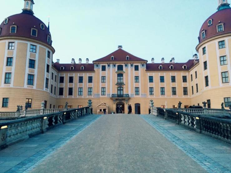 Schloss Moritzburg: close up