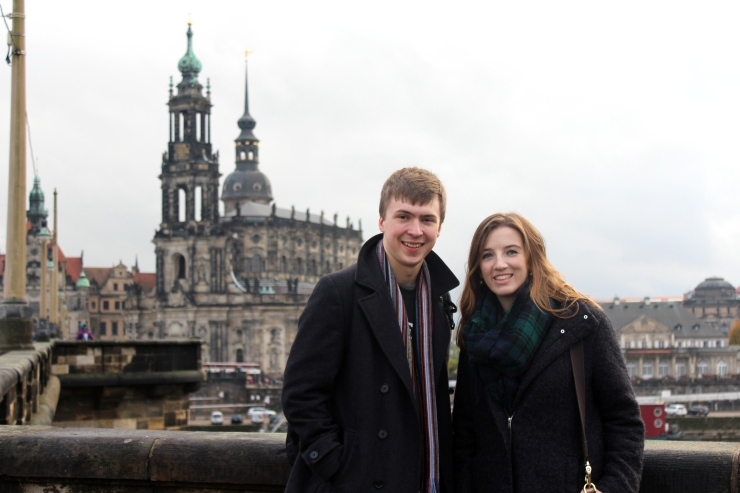 Felix and me in Dresden (to end on a nicer note)